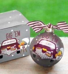 TX A&M We Wish Ornament | Coton Colors