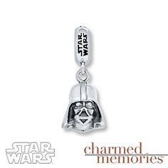 No Star Wars fan's wrist is complete without this Darth Vader Charmed Memories charm!