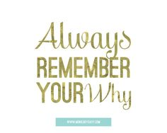 The most important part of your goal is remembering your WHY - WHY are you in working out?  WHY do you eat right?