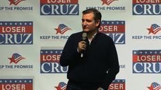 TeaBagger Ted takes his creep show back to Texas.
