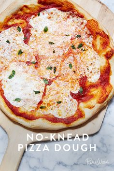 Cheater's Pizza Dough. Save yourself some time when it comes to making homemade pizza with this shortcut.