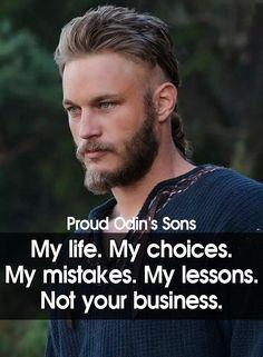 Son Quotes, True Quotes, Words Quotes, Best Quotes, Motivational Quotes, Inspirational Quotes, Qoutes, Ragnar Quotes, Vikings