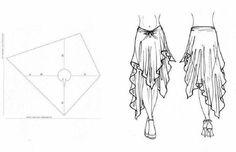 Wrap around skirt …