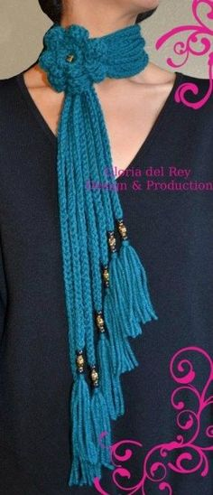 Free Shipping !!! Beautiful Fashion Scarves By Gloria del Rey