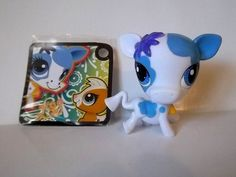 LITTLEST PET SHOP. COW # 3225 AND TOKEN. OOP #Hasbro
