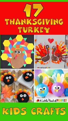 17 Top Thanksgiving Turkey Crafts for Kids -