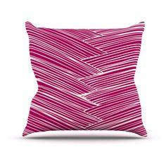 Kess InHouse Anchobee Loom Indoor/Outdoor Throw Pillow - AR1008AOP0