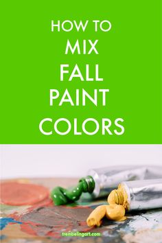 How to Mix Acrylic Paint for Fall Landscapes How to Mix Acrylic Paint for Fall Landscapes Anita Perron froufrousmom painting for Ron Want to learn how to mix nbsp hellip landscape Painting Canvas Painting Tutorials, Watercolor Tips, Acrylic Painting Lessons, Acrylic Painting For Beginners, Watercolor Paintings Abstract, Beginner Painting, Landscape Paintings, Landscapes, Painting Art