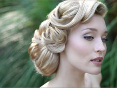 40's hair. Where can I go that would need hair this fancy? Because I need a place & need this hair :)