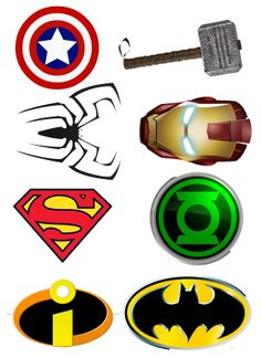 Superhero logos   Someone Call for a Superhero?   DIY