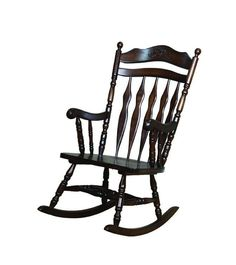 Shop Coaster Furniture Medium Brown Wood Rocking Chair with great price, The Classy Home Furniture has the best selection of Chairs to choose from