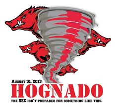 I am laughing so hard. Ar Razorbacks, Arkansas Razorbacks Football, Woo Pig Sooie, Kansas Missouri, University Of Arkansas, Go Red, Home Team, Sports Art, Cool Items