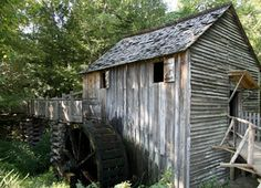 John Cable's Mill and Mingus Mill. The daily grind in the late 1800s. Live close to this place