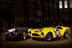 Shelby American and Superformance will debut four special edition Sebring Cobras at Barrett-Jackson in Scottsdale. Ford Shelby Cobra, Shelby Car, Road Race Car, Race Cars, Road Racing, Cobra Replica, 427 Cobra, Hot Rides, Snakes