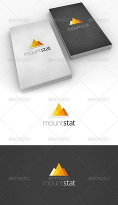 Buy Mount Stat - Logo for business by tanpopo on GraphicRiver. Overview Mount Stat is a logo best suited for realities related to analytics and statistics. Concept is quite simple . Typography Logo, Logo Branding, Branding Design, Logo Design Template, Logo Templates, Logo Web, Mining Logo, Mountain Logos, Mountain Style
