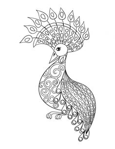 Bird Coloring Pages for Adults . 27 Fresh Bird Coloring Pages for Adults . Free Bird Coloring Pages Elegant Free Bird Coloring Pages Peacock Coloring Pages, Doodle Coloring, Mandala Coloring Pages, Coloring Pages To Print, Coloring Book Pages, Printable Coloring Pages, Coloring Pages For Kids, Tier Doodles, Free Adult Coloring