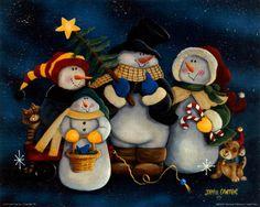 Snowman love.