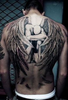 Angel Tattoo Ink Ideas For Men