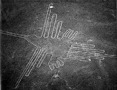 Hummingbird Nazca Lines found in Peru by Divonsir Borges