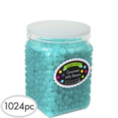 Robin's Egg Blue Jelly Beans 1024pc - Party City