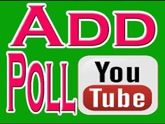How to Create Poll on youtube channel | how earn money from youtube views