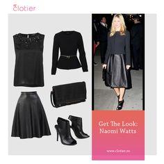Get The Look: Naomi Watts – All Black ‹ Clotier