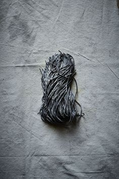 squid ink pasta. Photo: Iain Bagwell Food Styling: Katelyn Hardwick Prop Styling: Ginny Branch