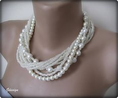 Hey, I found this really awesome Etsy listing at https://www.etsy.com/listing/179450315/wedding-ivory-glass-pearl-seed-bead