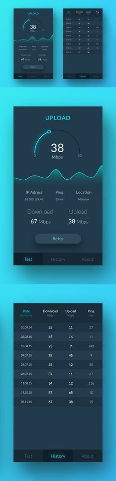 Speed Test App