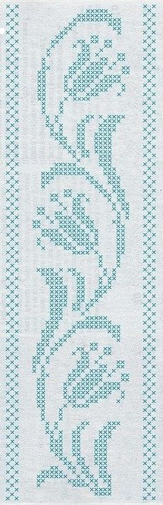 Одноклассники - is-sit tiegħi Cross Stitch Borders, Cross Stitch Flowers, Cross Stitch Designs, Cross Stitching, Cross Stitch Embroidery, Hand Embroidery, Cross Stitch Patterns, Embroidery Designs, Knitting Patterns