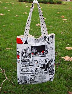 fabric tote bags      @Rita