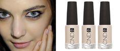 """50 Shades of Grey"" inspired nails by CND at BCBG #nyfw"