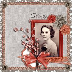 This beautiful layout was created by Christy Sturm using my latest kit, Sunday Morning, available exclusively at A Cherry on Top.