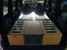Small van camper conversion made from wood - Carpentry & Joinery job in Swansea, West Glamorgan - MyBuilder
