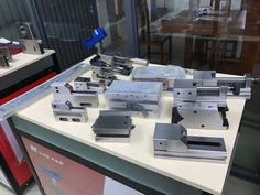 we specialize in producing CNC EDM and wire cut EDM workholding tool . Most of products can compatible with EROWA and system tool, Tool Holders, Homemade Tools, Milling, Cnc Machine, Tool Design, Edm, Wire, Cool Stuff, Shop
