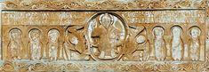 Sculpture Romane • Linteau de l'abbaye de Saint-Génis-des-Fontaines 1019-1020
