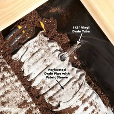 Build self watering planters (DIY) | Family Handyman Cedar Planters, Diy Planter Box, Raised Planter, Diy Planters, Garden Planters, Succulent Planters, Succulents Garden, Hanging Planters, Planter Ideas
