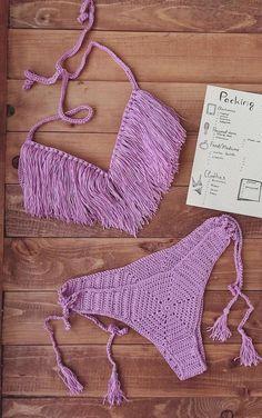 Best Free Crochet Bikini Patterns 2019 - Seite 44 von 46 # - New Ideas Bikini Crochet Patron, Crochet Bikini Pattern Free, Crochet Bikini Top, Crochet Patterns, Crochet Diy, Crochet Woman, Dandy, Crochet Clothes, Crochet Stitches