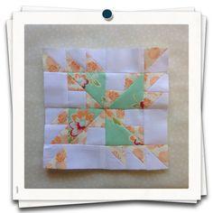 Threadbare Creations- Chatelaine Free BOW Sampler Quilt Block 64