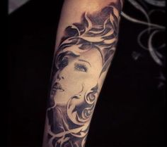Forearm tattoos are popular places to get tattoos done as they are exposed areas