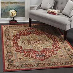 Safavieh Mahal Collection MAH625B Traditional Oriental Natural and Navy Area Rug (5'1″ x 7'7″)  Check It Out Now     $133.45    Safavieh's Mahal collection offers the beauty and painstaking detail of traditional Persian and European styles with ..  http://www.handmadeaccessories.top/2017/04/02/safavieh-mahal-collection-mah625b-traditional-oriental-natural-and-navy-area-rug-51-x-77-2/