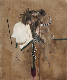 Michael Bauer  Freund 1 - Deutsch  2008 Oil on canvas 60 x 50 cms