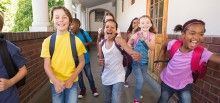Is the back-to-school frenzy making you feel a bit stressed? Here are four ways to center yourself in preparation for your child's school year.