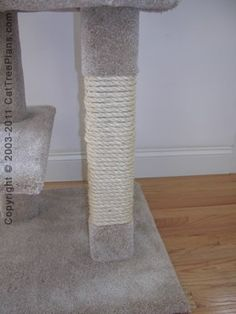 The ultimate cat care guide cat tree plans cat tree and for Build your own cat scratch tower