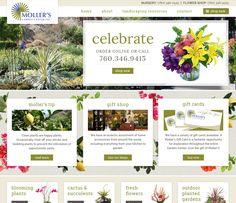 Moller's Garden Center - Big Rig Media - eCommerce Website Design