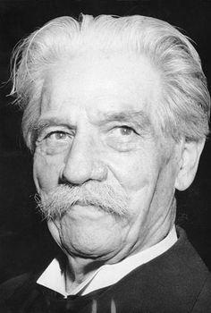 L'alsacien Albert Schweitzer reçut le prix Nobel de la Paix en 1952.