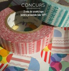 Colorific: Concurs: Castiga 2 role de washi tape