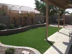 backyard landscaping ideas desert