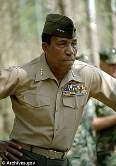 Lt. Gen. Frank E. Petersen Jr., the first ever black Marine Corps pilot, who fought racism to rise to the rank of three-star general, has died aged 83. Lt. General Petersen was a true trail blazer for African American's in the armed forces