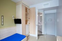 Prison cell in Halden, Norway. Anders Breivik is complaining about inhumane conditions in this priso